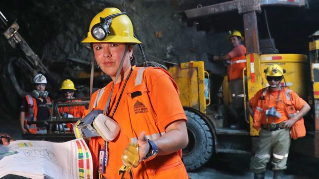 Participación de la mujer en la minería de Perú en 2020