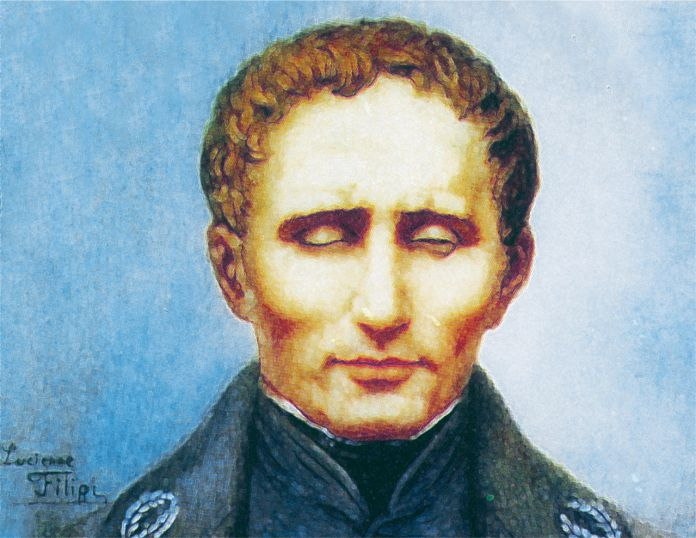 Louis Braille - Sistema alfabeto braille